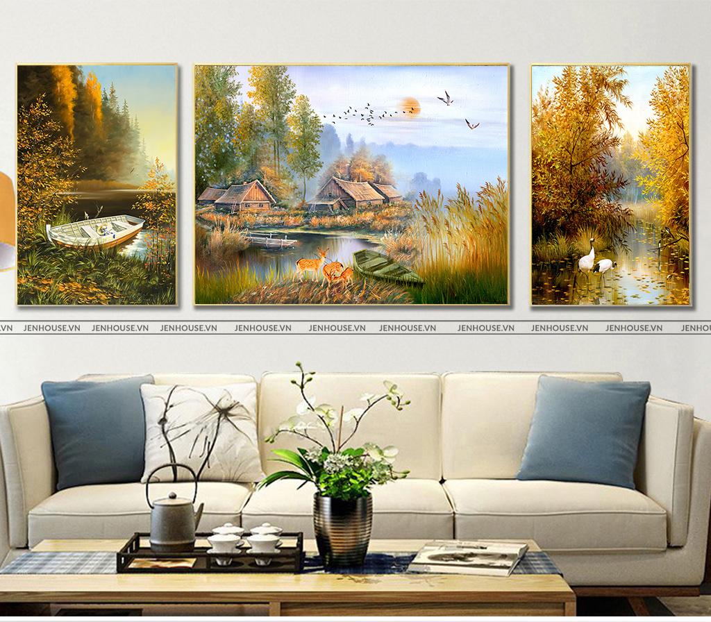 Kết quả hình ảnh cho tranh treo phòng khách